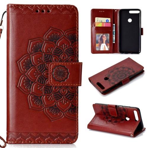 438d612fc14 Product image. Honor 7C - pruun pu nahk / tpu rahakott / koos hoidjaga  ümbris. 11.60€. Lisa ostukorvi