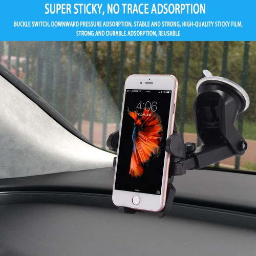 """LG G Pad Pro Acer Dell Venu 7/"""" 8/"""" Tablet Sticky Suction Dash Mount Fit Case Also"""
